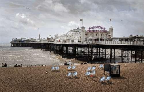Brighton England Sussex Sea Pier Uk Architecture