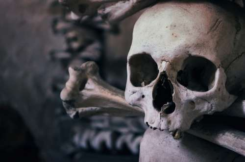 Skull Ossuary Czech Republic Chapel Of All Saints