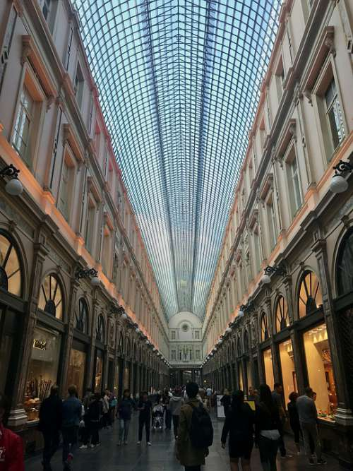 Belgium Shopping Architecture Europe Brussels