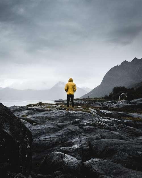 Norway Lofoten Nature Landscape Sky Sea Nordland