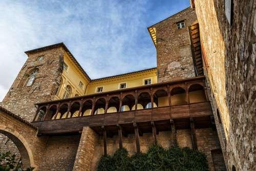 Spello Umbria Italy Tourism City Urban