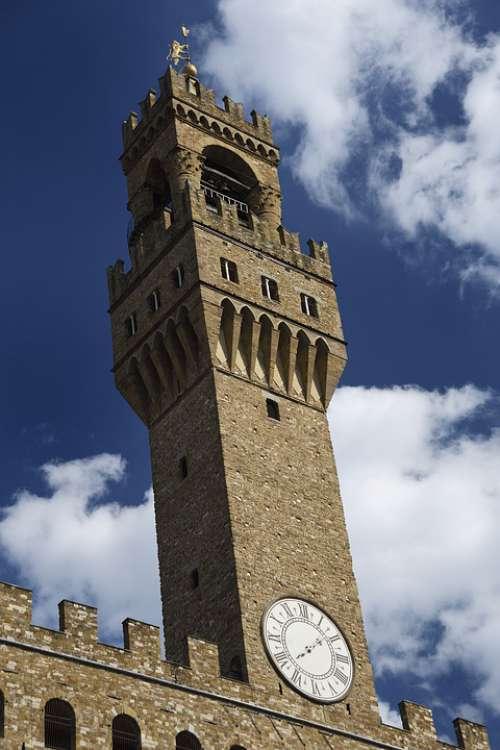 Florence Art Piazza Della Signoria Italy Monument