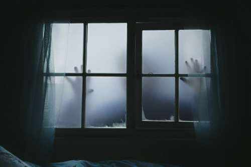 Halloween Fear Chilling Terror Mystery Hands