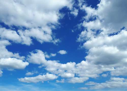Sky Clouds Blue Weather Nature