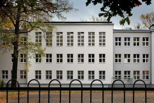 School Building Architecture Facade
