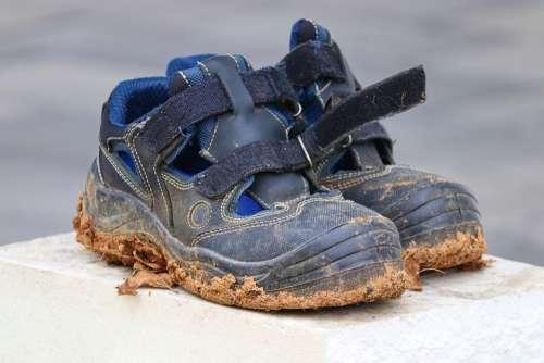 Work Shoes Shoes Footwear Dirty Work Gardening