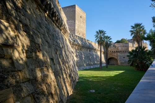 Castle Fortress Dig Wall Italy