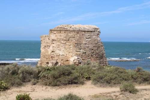 Fort Of Santa Catalina The Port Of Santa Maria Spain