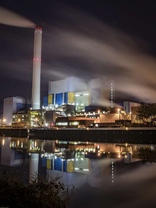 Power Plant Waste Incineration Pollution