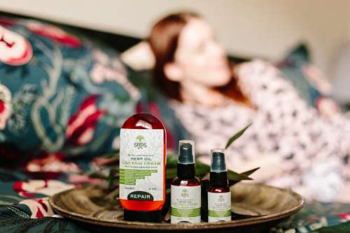 Cbd Hemp Oil Health Wellness Relax Relaxation
