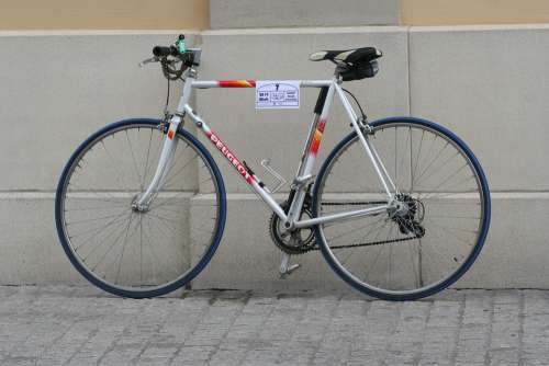 Wheels Road Bike Blue Cycling Wheel Sport Bike