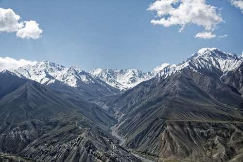 Afghanistan Wachankorridor Wakhan River