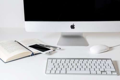 Work Computer Apple Business Office Desk