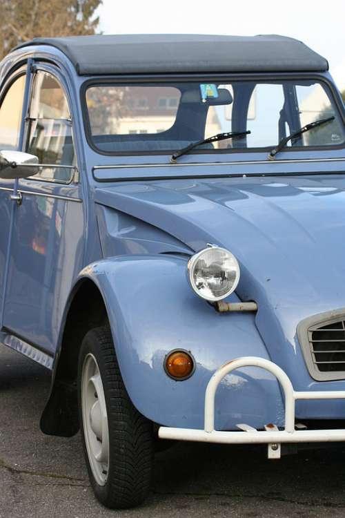 Duck 2Cv Auto Oldtimer France Classic Vehicle