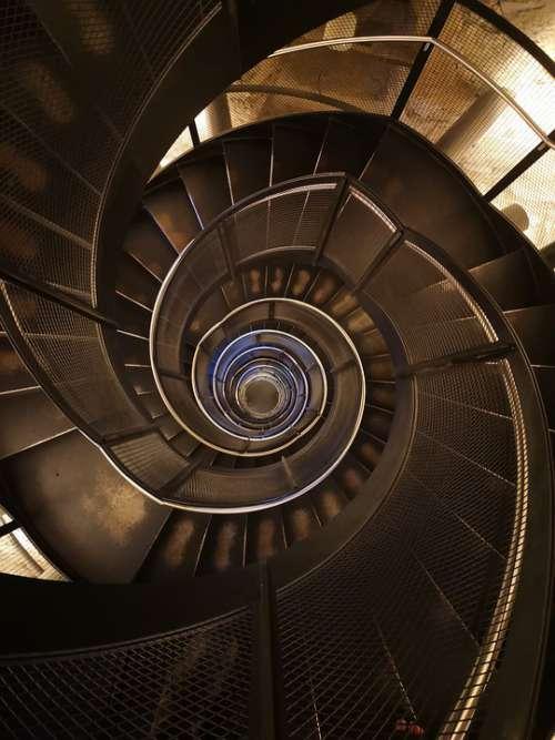 Stairwell Slug Stairway Steps Construction High