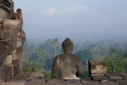 Borobudur Indonesia Java Architecture Travel