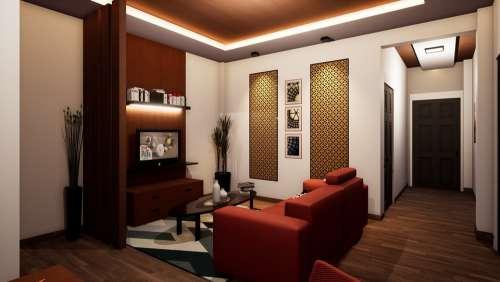Interior Design Rendering Interior 3D Design