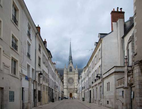 Orleans Cathedral Street Architecture History