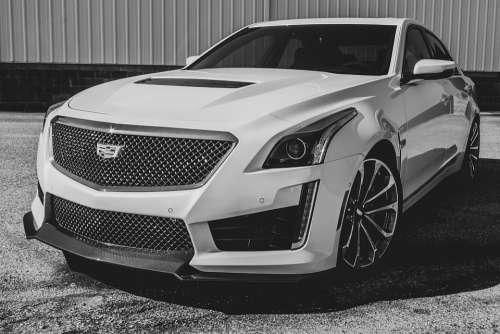 Cadillac Car Auto American Usa Automotive Vehicle