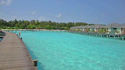 Maldives Water Bungalow Vacation Holiday Hotel
