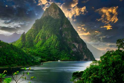 The Pitons St.Lucia