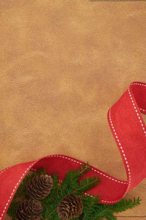 seasonal backgrounds christmas flat lay ribbon