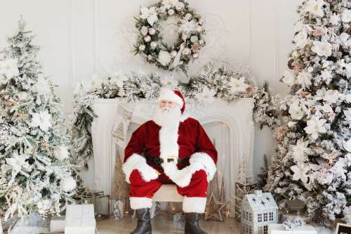 Santa's Ready For Visitors! Photo