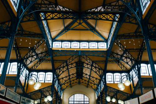 An Ornate Interior Structure Photo