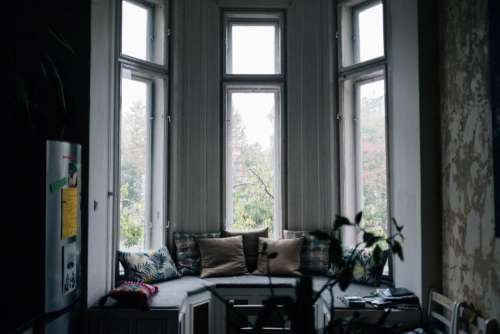 Bay Window Tranquility Photo