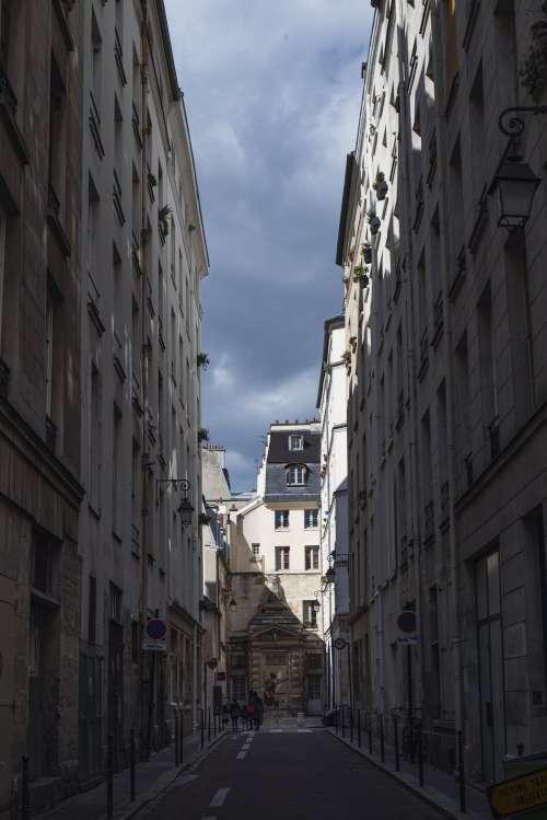Dim City Street Photo