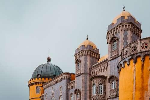 Towers Of Pena Palace Photo