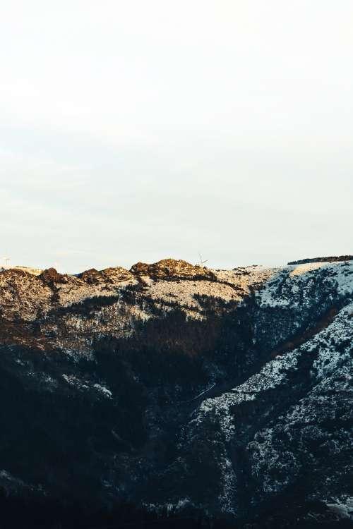 Sunrise Over The Mountains Photo