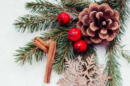Christmas spruce decoration 3