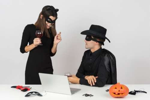 It's Not Another Dimension, It's Just Office At Halloween