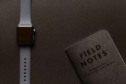 Watch and Notebook
