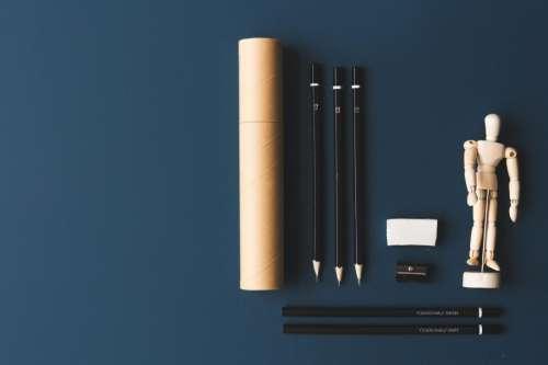 Artist Pencils Background