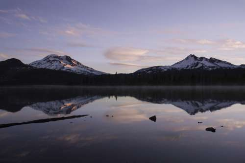 Lake Mountain Reflection