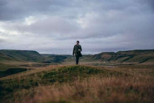 Man Hiking Free Photo
