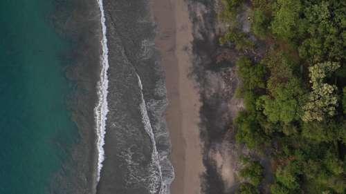 Aerial Coastline Free Photo