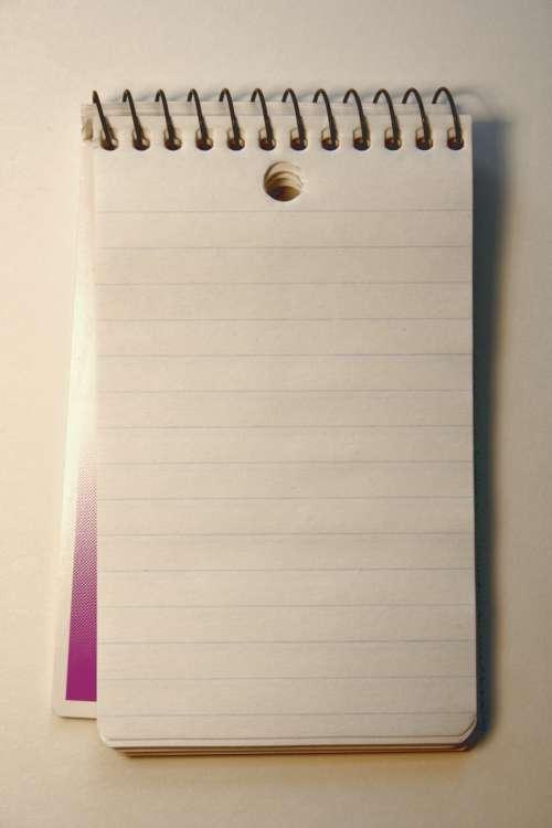 Spiral Memo Notepad