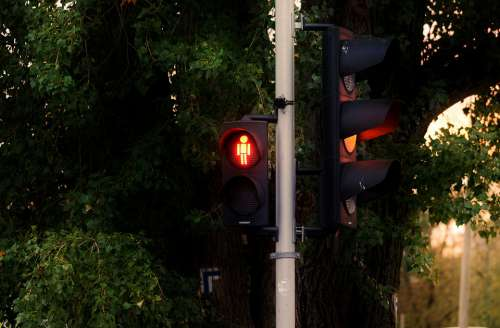 Traffic Light Lights Traffic Colors Red Orange
