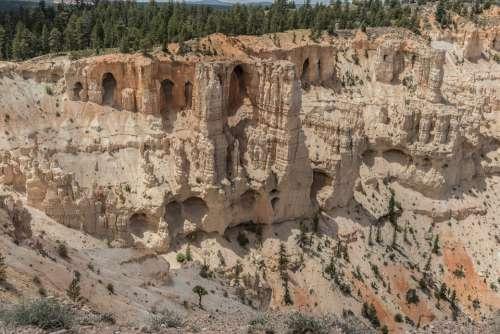 Bryce Nature Usa Park Landscape Rocks Canyon
