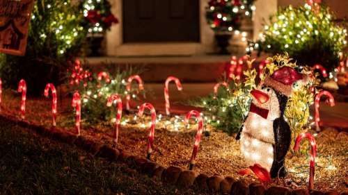 Christmas Lights Decoration Xmas Holiday Glowing