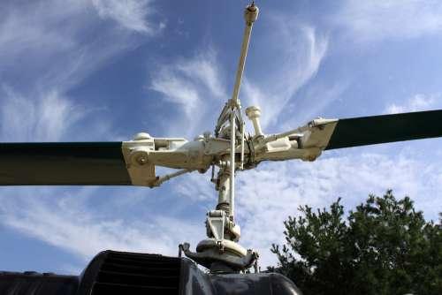 Helicopter Propeller Transport Aircraft Flight Sky
