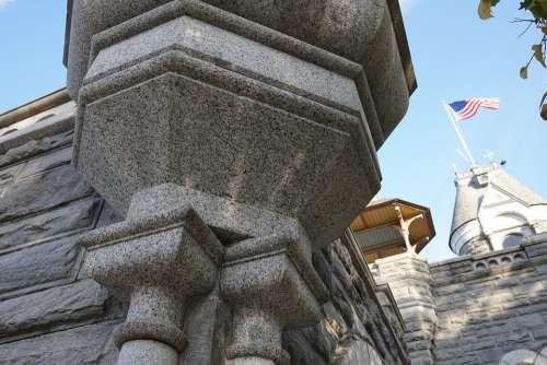 New York Belvedere Castle Central Park Architecture
