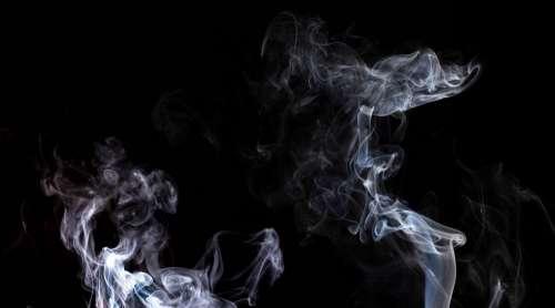 Smoke Black Shape Smog Pattern Texture Swirl
