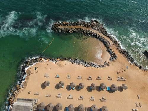Ocean Sea Beach Nature Coast Sun Surrealistic