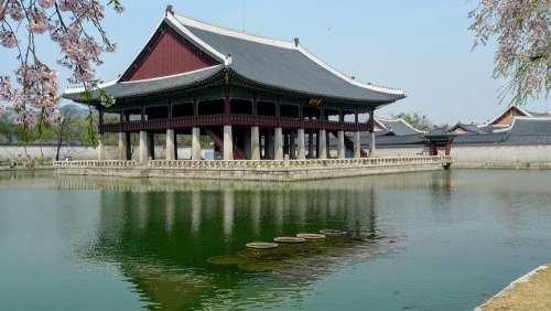 Korea Seoul Temple Asian Asia Korean Palace