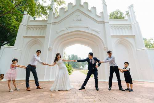Love Marriage Tug-Of-War Friendship Nature Gate
