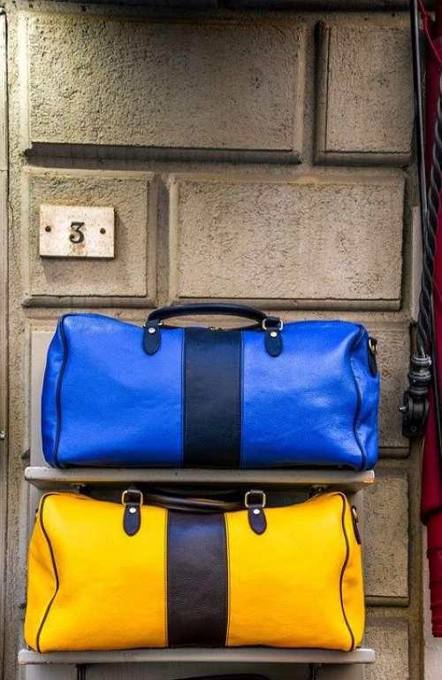 Handbags Bags Leather Craft Designer Design Blue